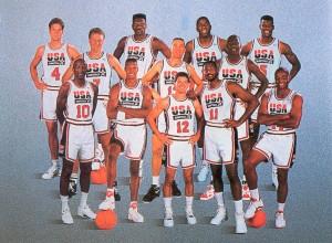 La Dream Team, Basketball USA aux Jeux Olympiques de 1992