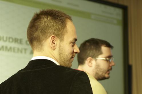 François Jehl et David Joubert aux JSS2012
