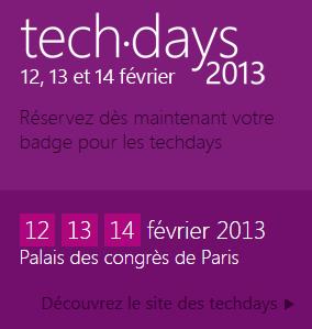 Techdays 2013