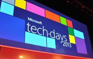 Logo métro Techdays 2013