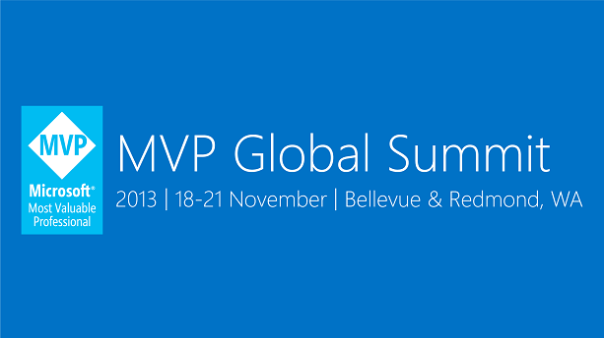 MVP Summit Nov2013